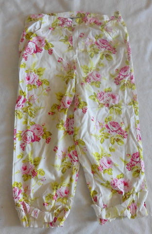 New BLUE MOON by DAVID CHARLES girls summer trousers 12y
