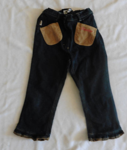 New MOSCHINO girls jeans 4-5y