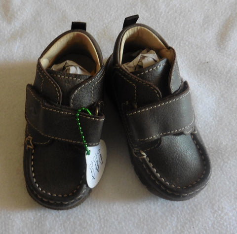Size 20 UK baby 4 NATURINO brown shoes