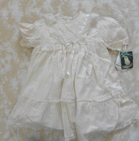 PIXIE KITTEN christening or special occasion dress 18-24m