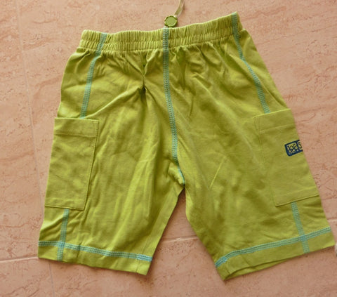 New OILILY lime green shorts 1-2y