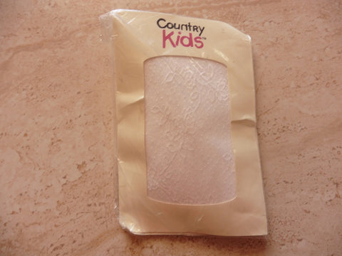 new 3-5y  COUNTRY KIDS lacey tights
