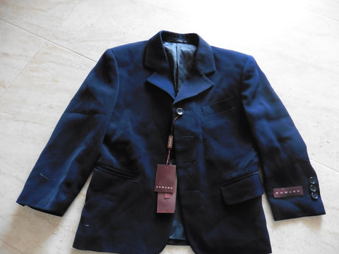 New ROMANO designer navy suit jacket 8y approx