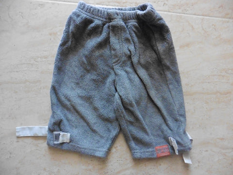MINIMAN grey terry trousers 6m