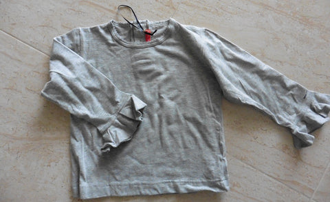 NEW BENGH PER PRINCIPESSE grey girl's top fits 4-5y