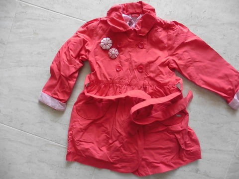 ELLE red girl's lightweight coat 4-5y
