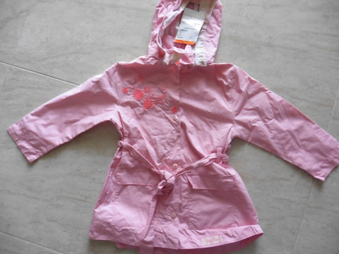 New lightweight MARESE pink coat 4y