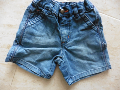 OLD NAVY denim shorts 12-18m