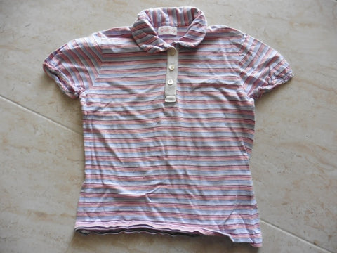Quincy designer striped top 3-4y