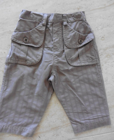 TARTINE ET CHOCOLAT lightweight brown trousers 1y