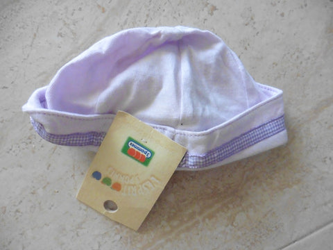 New 3 POMMES purple newborn hat