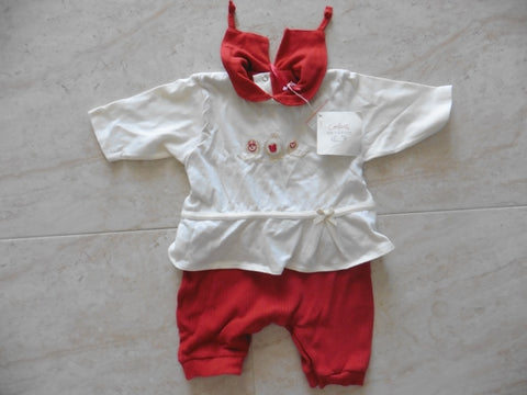 New CONFETTI girl's romper 0-3m