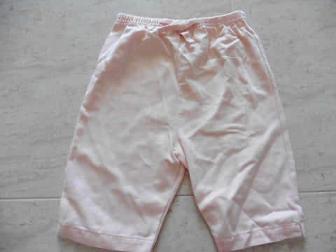 New MARKS AND SPENCER peach cropped trousers 18-24m - large