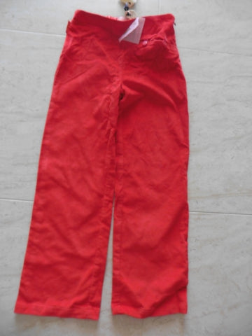 New MINIMAN IL ETAIT UNE FEE red velvet trousers 8y