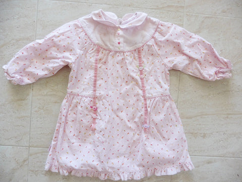New CATIMINI fine cord pink dress 23m 2y