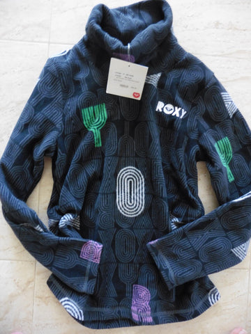New ROXY by QUIKSILVER girl's fleece 10y