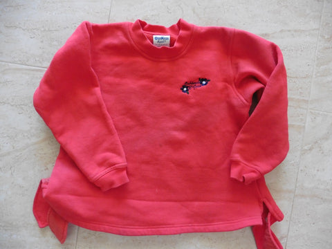 OSH KOSH girl's red winter sweatshirt 5-6y