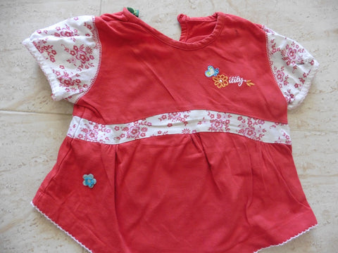 OILILY red t shirt 86 9-12m