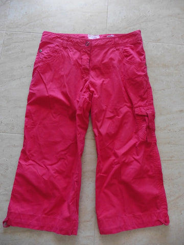 LOGG H&M ladies cropped trousers 42 UK 14