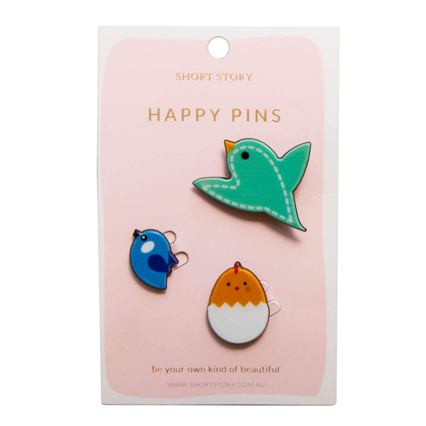 Happy Pin Bird