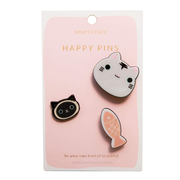 Happy Pin Cat