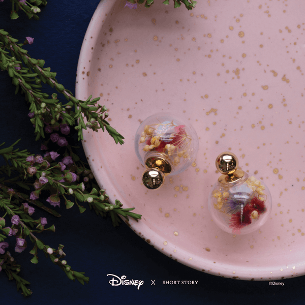 Bubble Earring Disney Belle