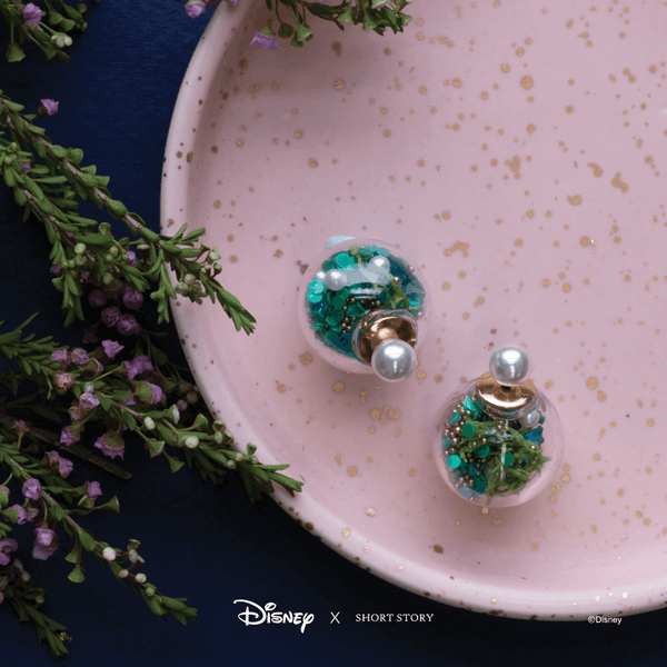 Disney Bubble Earring Ariel