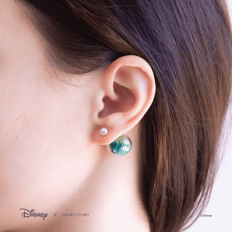 Bubble Earring Disney Ariel