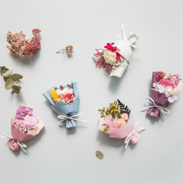 Mini Floral Bouquet Box Pack
