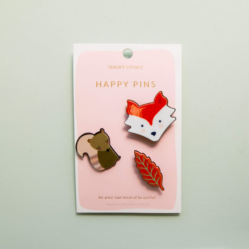 Happy Pin Fox