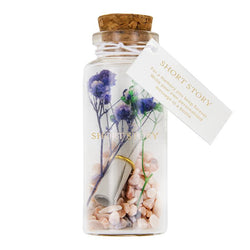 Message in a Bottle Rose Blue