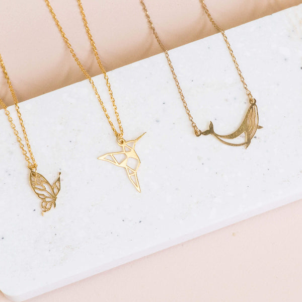 Necklace Butterfly Stencil