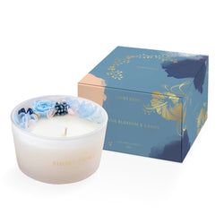 Floral Candle Orange Blossom