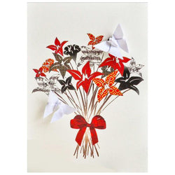 Card Bouquet of Flowers
