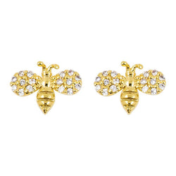 Earring Diamante Bee