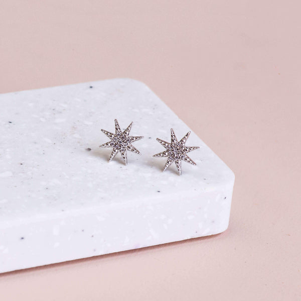 Earring Diamante Morning Star