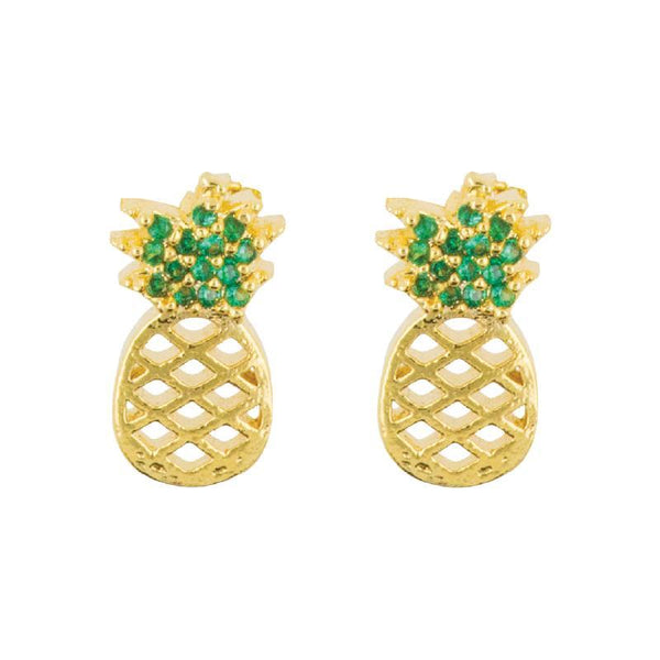 Earring Diamante Pineapple