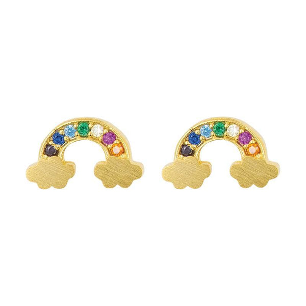 Earring Diamante Rainbow