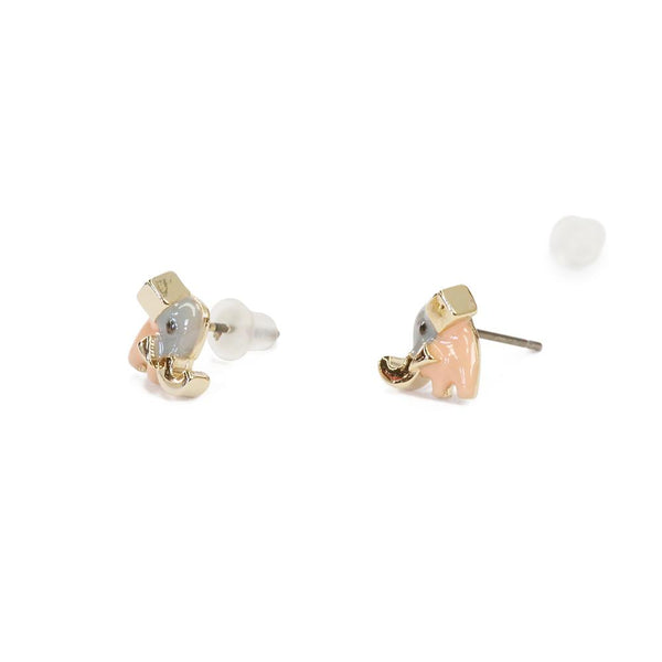 Earring Epoxy Little Elephant