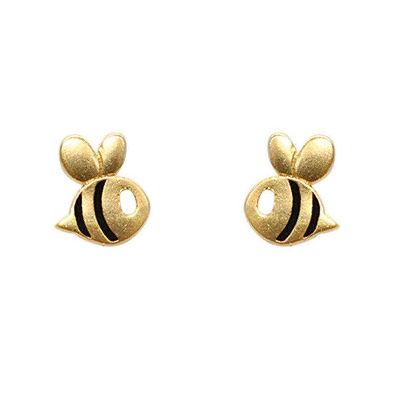 Earring Bumble Bee Gold