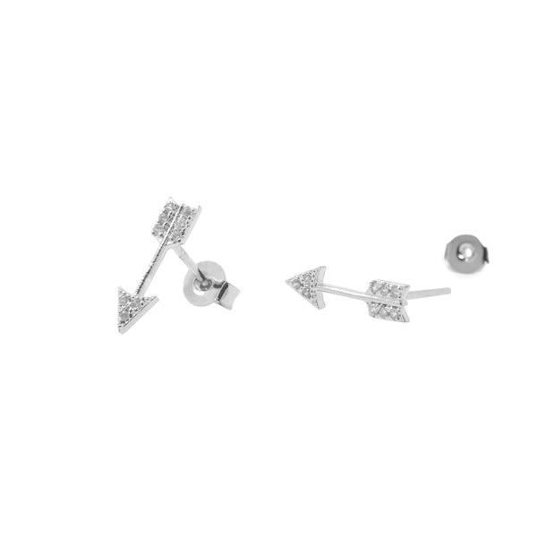 Earring Arrow Diamante