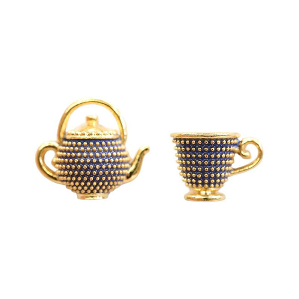 Fancy Earring Teacup Party