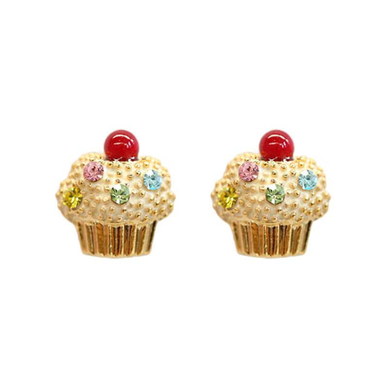Fancy Earring Cupcakes