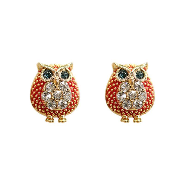 Fancy Earring Owls