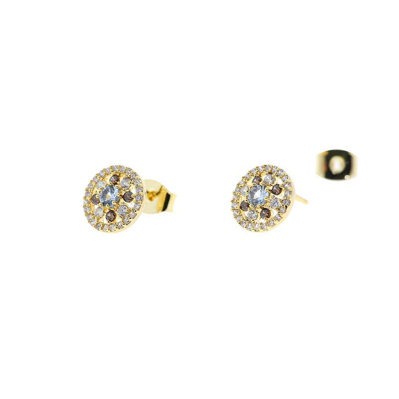 Earring Ethereal Circle Gold