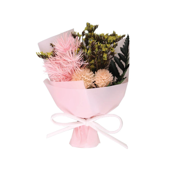 Mini Floral Bouquet Box Pink