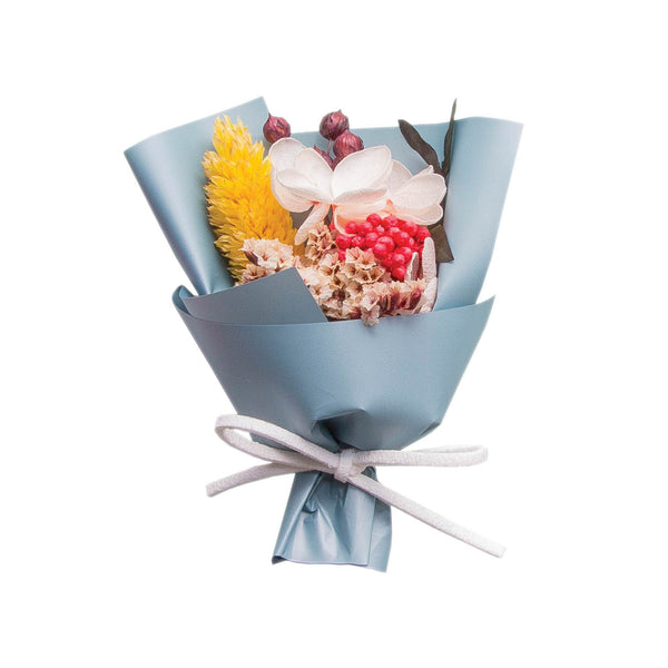 Mini Floral Bouquet Box Dark Blue