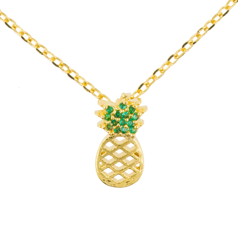 Necklace Diamante Pineapple