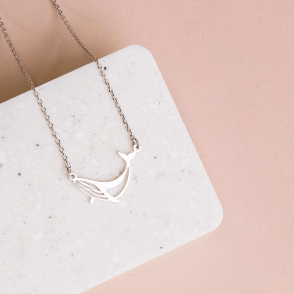 Necklace Whale Stencil