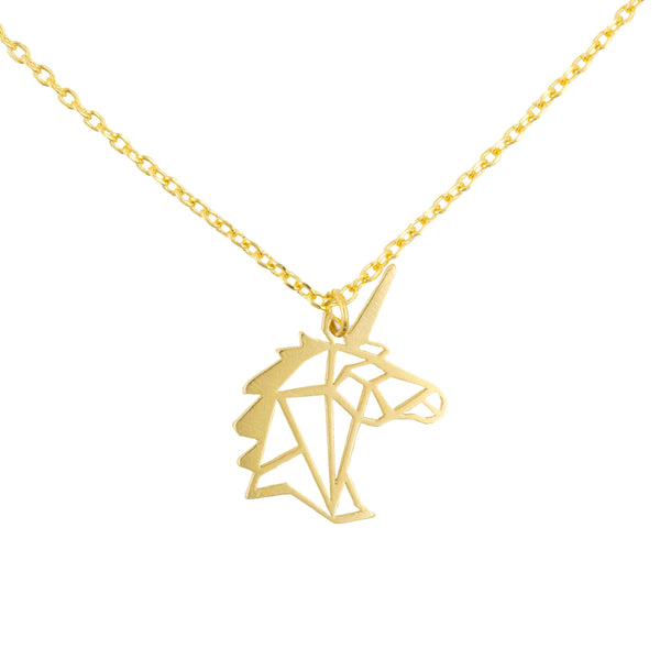 Necklace Unicorn Stencil
